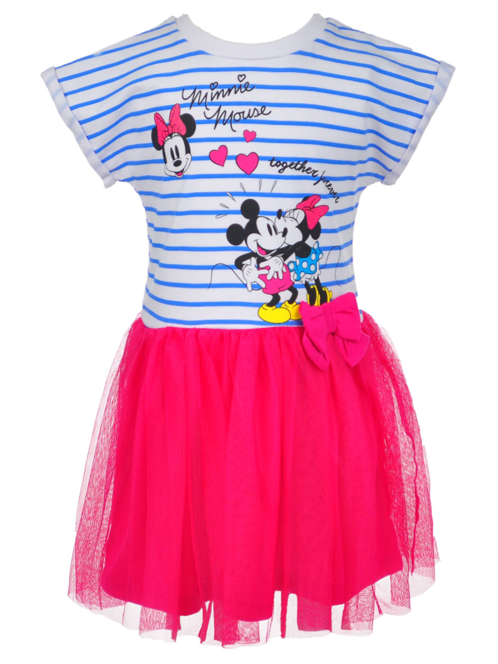 9c31aaa32cd5 Disney - Disney Minnie Mouse Girls' Dress - Walmart.com
