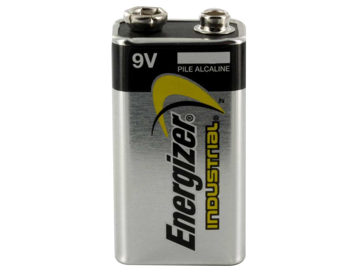 Energizer Industrial 9V Alkaline Batteries 36 Pack + 30% Off! by