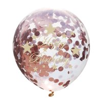 KABOER 10pcs 12'' It's A Boy/Girl Confetti Balloons Baby Shower Birthday Party Decor