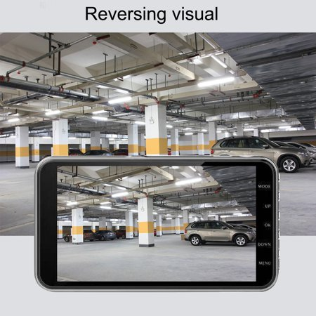 170° 4'' HD 1080P 32GB Car Dual Lens Camera DVR Dash Cam Video Drive Recorder - image 2 of 6