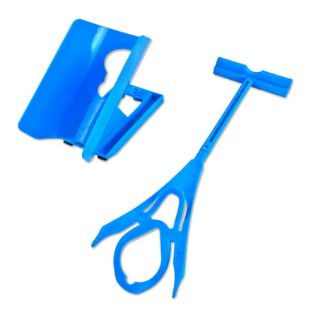 Sock Aid Helper Easy On and Off Sock Dressing Assist Sliding Helper - Help Putting Socks On & Off Device - Seen On (Assist Attachment Device)