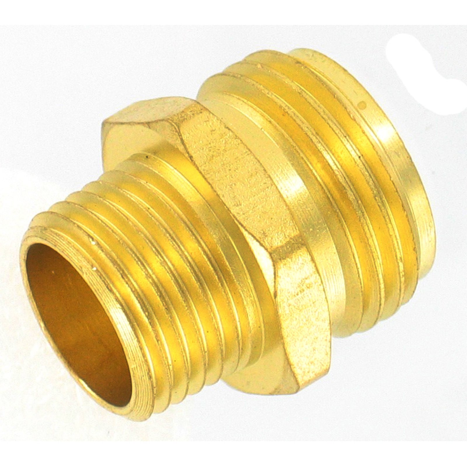 "Gilmour 7MH7MP5P 3/4"" x 3/4"" Brass Connectors"