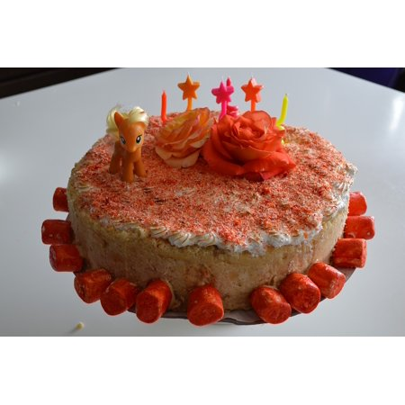 LAMINATED POSTER Celebration Birthday Cake Sugar Poster Print 11 X 17