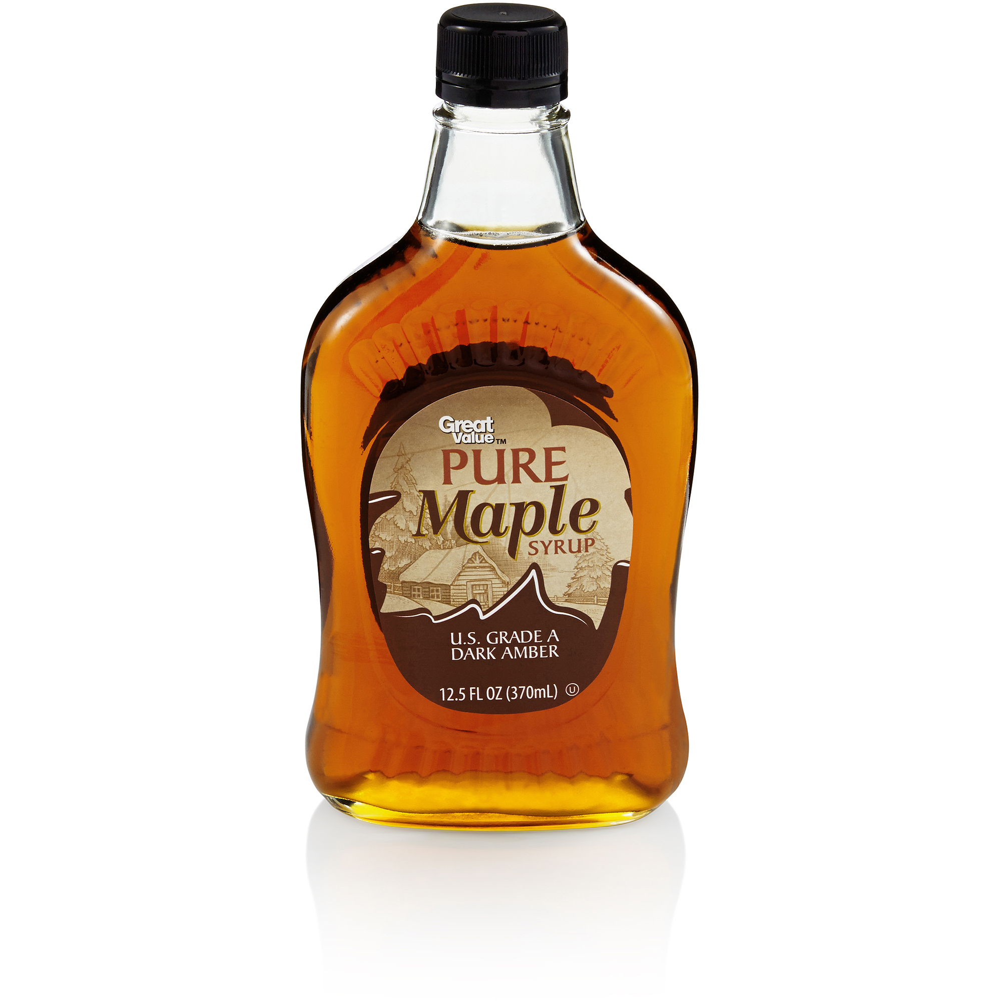 Great Value Pure Maple Syrup, 12.5 Oz