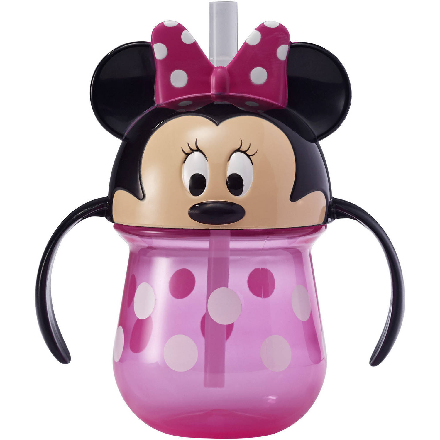 Click here to buy Disney Minnie Mouse Trainer Sippy Cup with Straw, 7 Oz by The First Years.