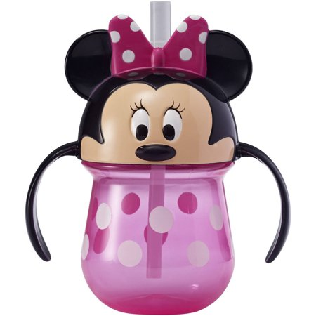 - Disney Minnie Mouse Trainer Sippy Cup with Straw, 7 Oz
