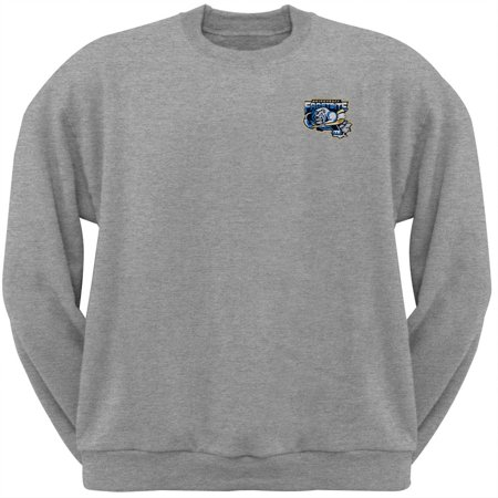 Adirondack Frostbite - Embroidered Logo Grey Youth