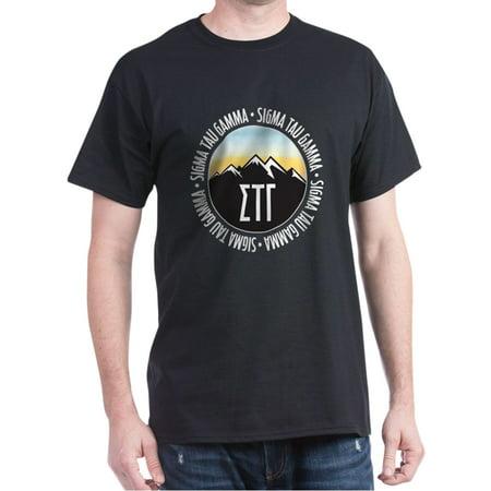 Sigma Tau Gamma Mountains Sunset T-Shirt - 100% Cotton