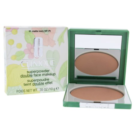 Superpowder Double Face Makeup - 01 Matte Ivory VF-P by Clinique for Women - 0.3