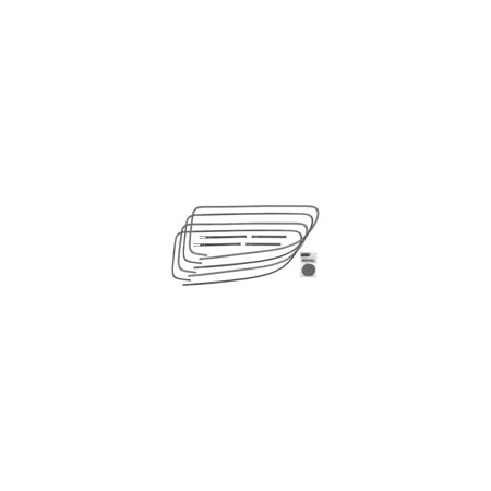 MACs Auto Parts  32-17634 Window Channel Kit - Rear Quarter - Ford Tudor Sedan ()