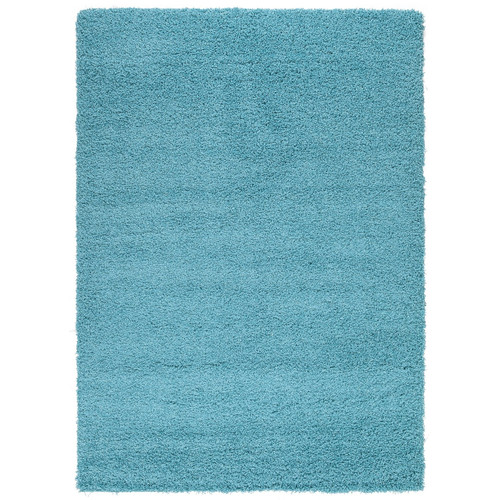 sweet home stores Cozy Turquoise Blue Area Rug