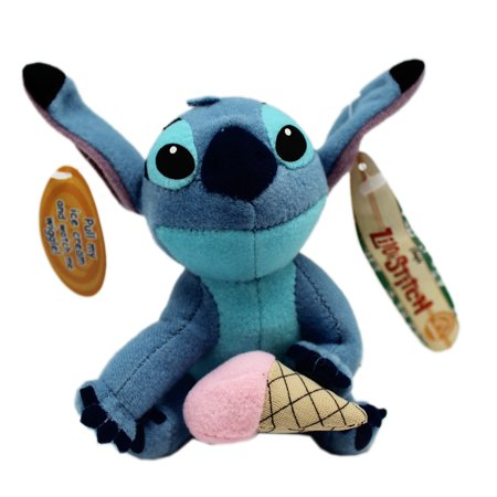 Vibrating Plush - Disney's Stitch Small Plush Toy With Vibration Pull String