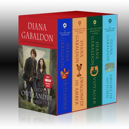 Outlander 4-Copy Boxed Set : Outlander, Dragonfly in Amber, Voyager, Drums of (The Best Of Amber Lynn)