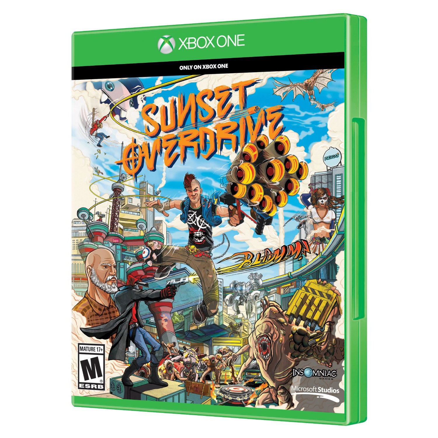 Sunset Overdrive, Microsoft, Xbox One, 885370848885