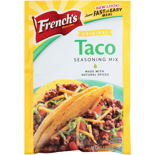 French's Original Taco Seasoning Mix, 1.25 oz, (Pack of 24)