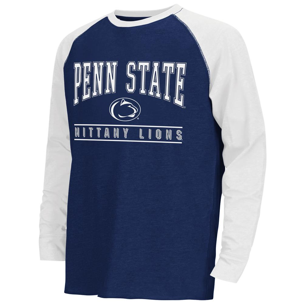 Youth Kryton Raglan Penn State University Long Sleeve Tee