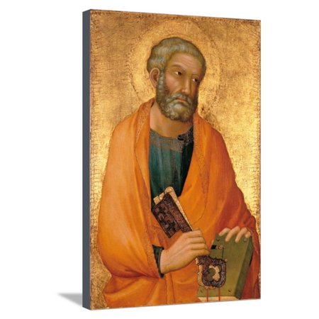 Peter the Apostle Stretched Canvas Print Wall Art By Simone Di - Martini Stretched Canvas