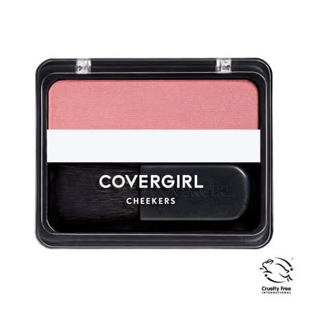 COVERGIRL Cheekers Blendable Powder Blush Deep Plum, .12 oz (Kat Von D Makeup Blush)