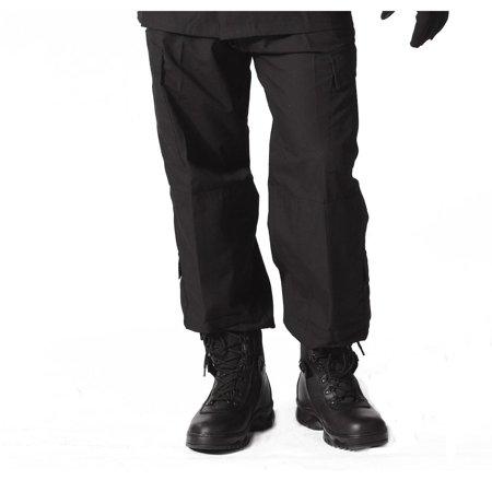 Rothco 5455 SDU Tactical Black ACU Style Uniform Pants for SWAT (Swat Uniform)