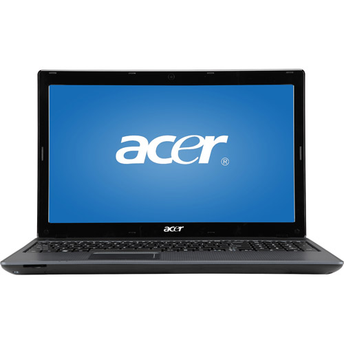 "Acer Gray 15.6"" Aspire AS5349-2481 Laptop PC with Intel Celeron B800 Dual Core Processor, Webcam, HDMI Out and Windows 7 Home Premium"