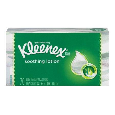 Kleenex Tissues with Aloe Lotion - 70 CT