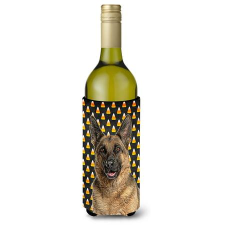 Candy Corn Halloween German Shepherd Wine Bottle Beverage Insulator Hugger KJ1215LITERK](Legoland Germany Halloween)