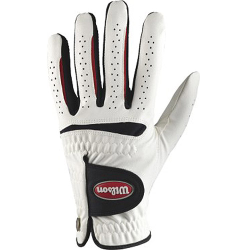 Wilson Feel Plus Men's Golf Glove, LH, Medium-Large