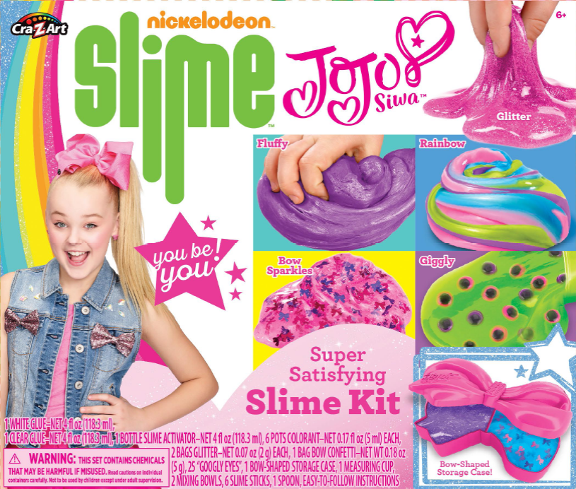 Nickelodeon Jojo Slime Kit by La Rose