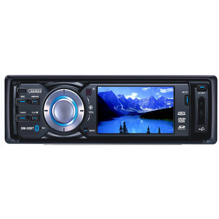 Sumas Car Stereo Wiring Harness Diagrams Suma Sm 30bt 3 Touchscreen In Dash Detachable Flip Down Dvd Double Din