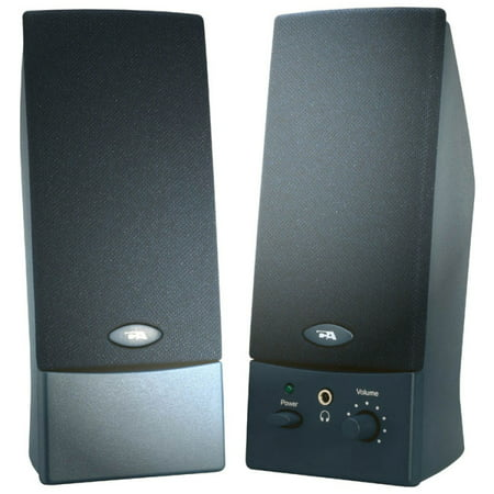 Cyber Acoustics 2-Piece USB Powered Computer Speaker