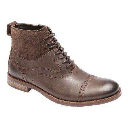 32cc213d09694 Rockport - Men's Rockport Wynstin Cap Toe Ankle Boot - Walmart.com