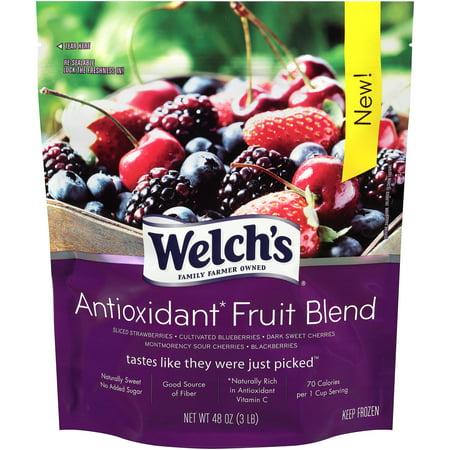 Welch S Antioxidant Fruit Blend  3Lbs   6 Pack