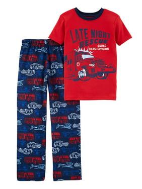 956abc8a3 Product Image Carter's Big Boys' 2-Piece Hero Cotton & Poly PJs ...