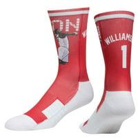 Zion Williamson New Orleans Pelicans Strideline Premium Comfy Crew Socks - Red