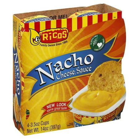 Ricos Nacho Cheese Sauce, 4 ct