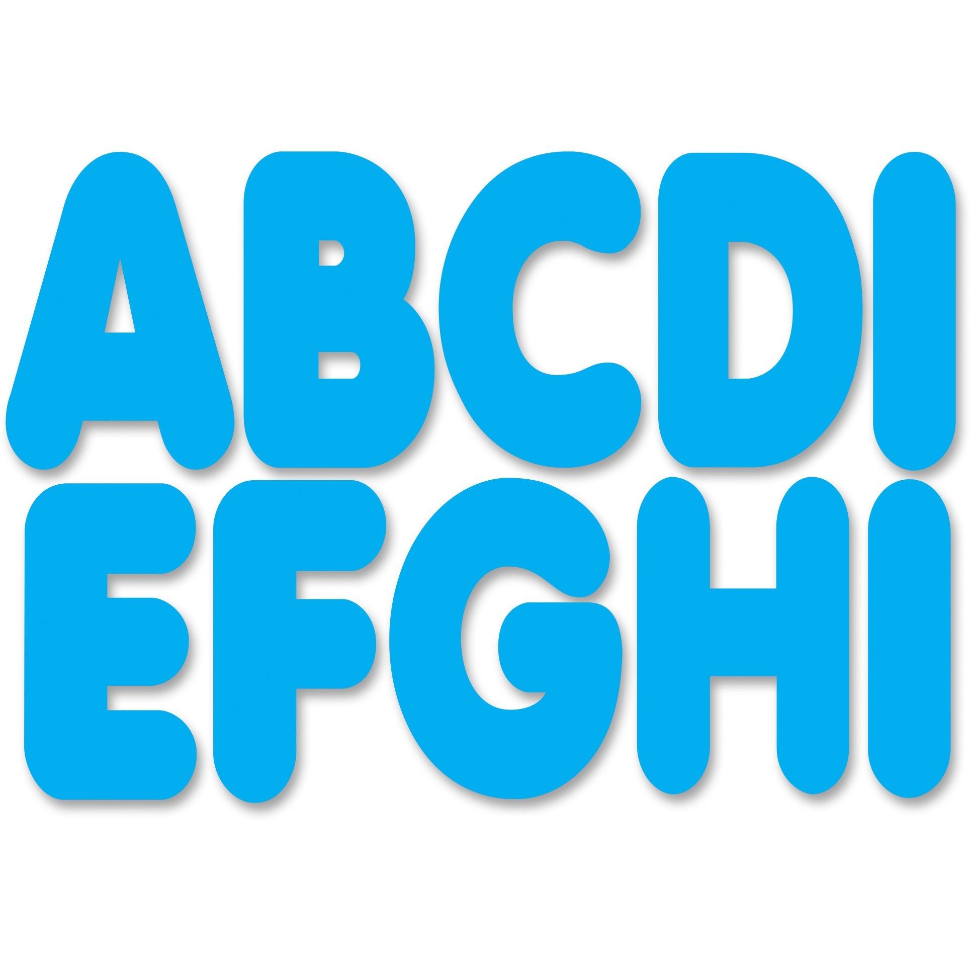 Ashley, ASH17000, Magnetic Die-cut Letters, 1 Set, Black