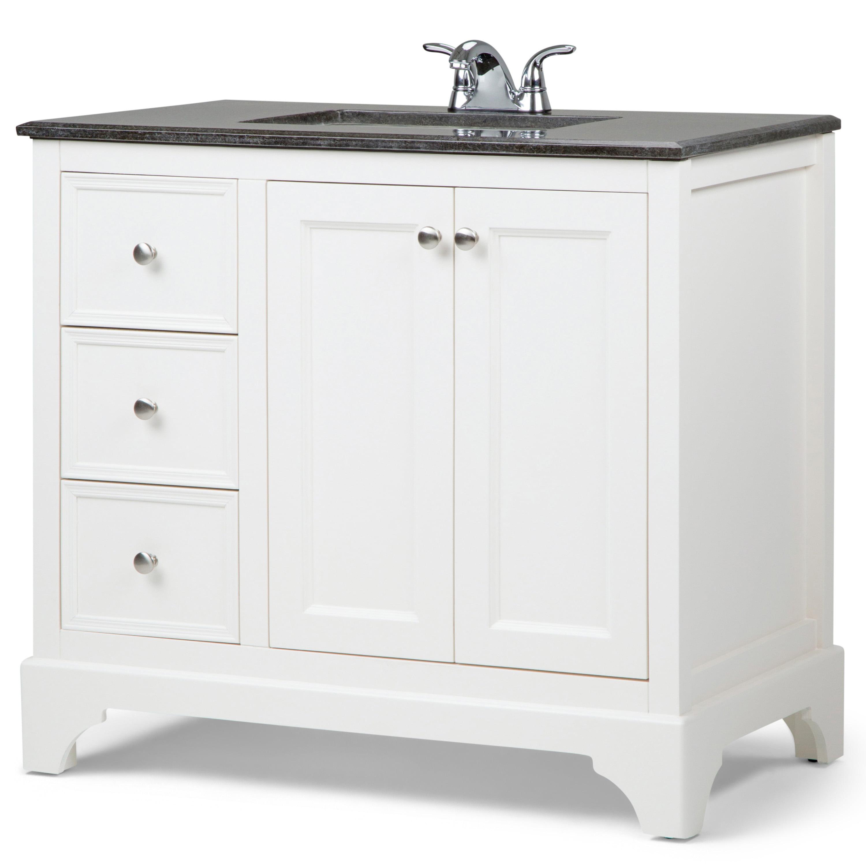 Brooklyn + Max Dartmouth 36 inch Transitional Bath Vanity ...