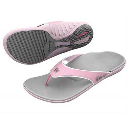 Spenco PolySorb Total Support Sandals YUMI Women6 Carm/Coff