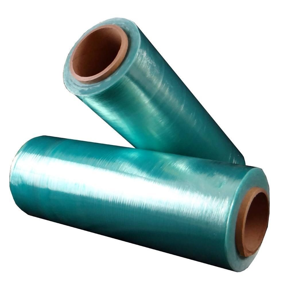 Green Tint Hi-Perf Stretch Wrap Film 12 in. x 1500 ft. x 80 ga