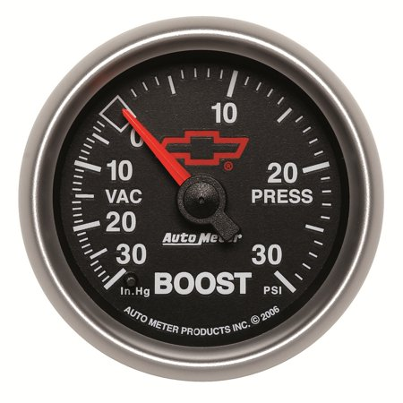 Mechanical Boost Controller - Auto Meter 3603-00406 Boost / Turbo  - 30 IN HG/30 PSI - Mechanical - GM Sport Comp II