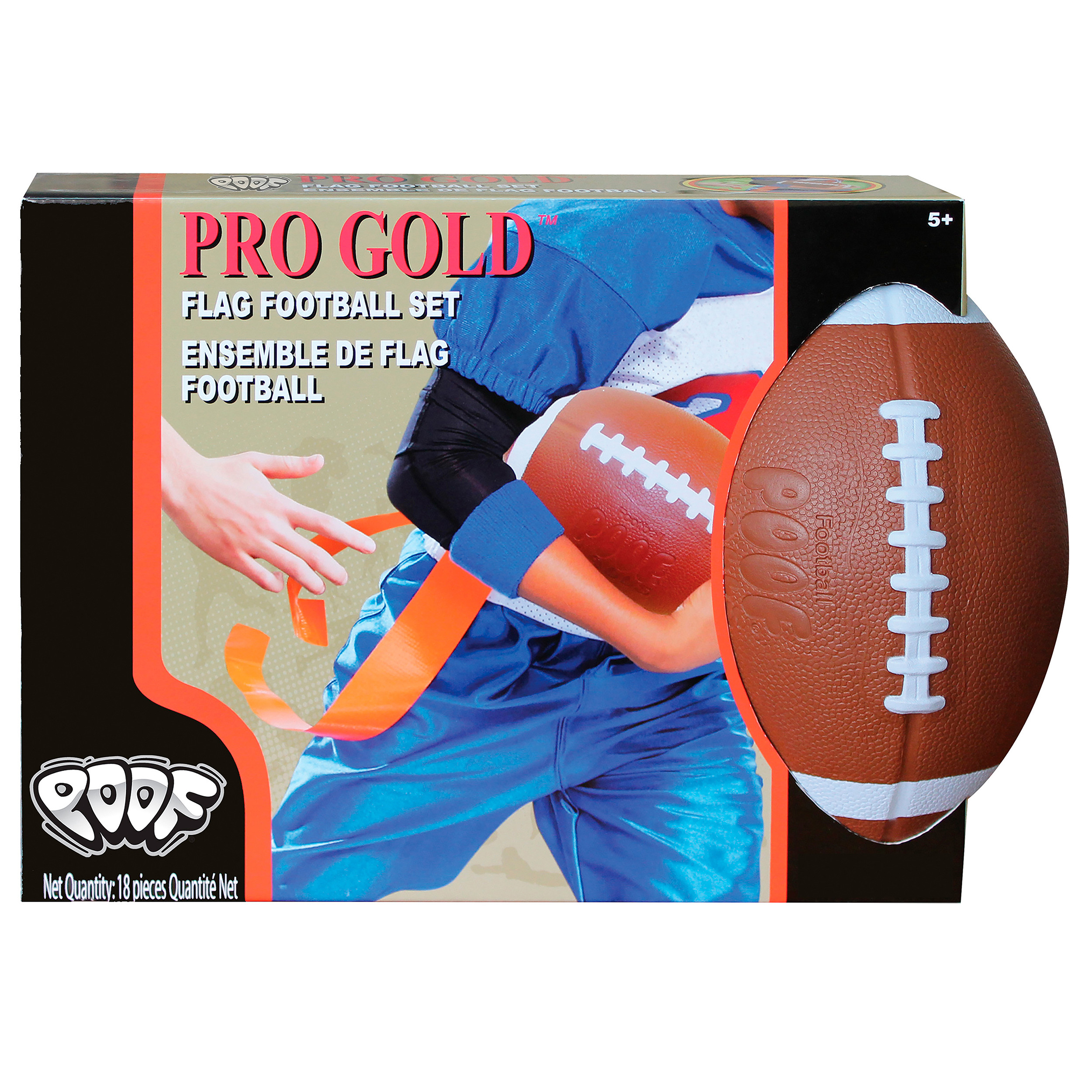 POOF Pro Gold Flag Football Set