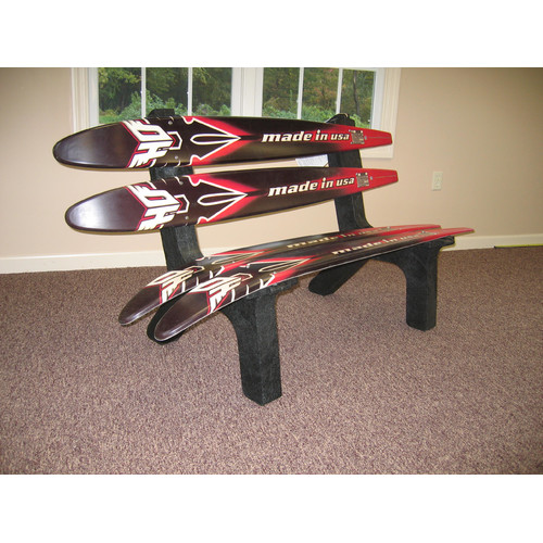 Ski Chair Water Recycled Plastic Garden Bench