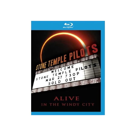 STONE TEMPLE PILOTS-ALIVE IN WINDY CITY (BLU-RAY) (Temple Part Of Head)