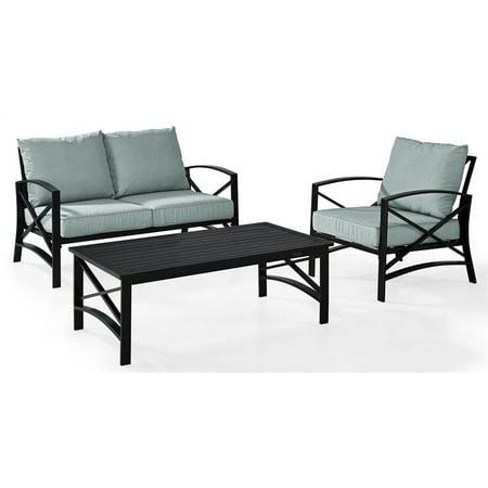 Brilliant 3 Pc Modern Outdoor Seating Set Inzonedesignstudio Interior Chair Design Inzonedesignstudiocom