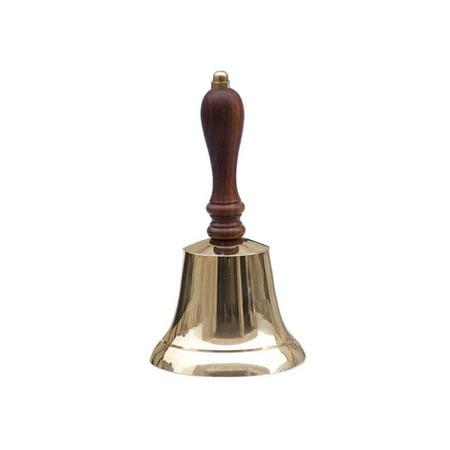 Polished Brass Handbell - Brass Hand Bell 9