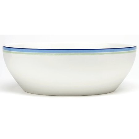 Noritake Java Blue Swirl Round Vegetable Bowl, 9-3/4-inches, 96-ounces