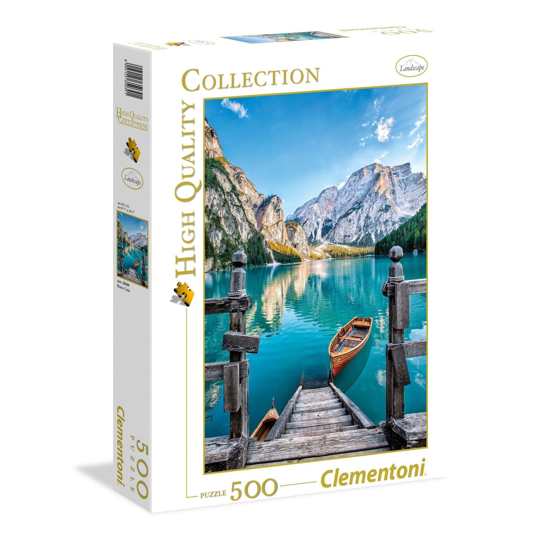 30123 PUZZLE HIGH QUALITY CLEMENTONI AMERIGO VESPUCCI 500pcs LIFE