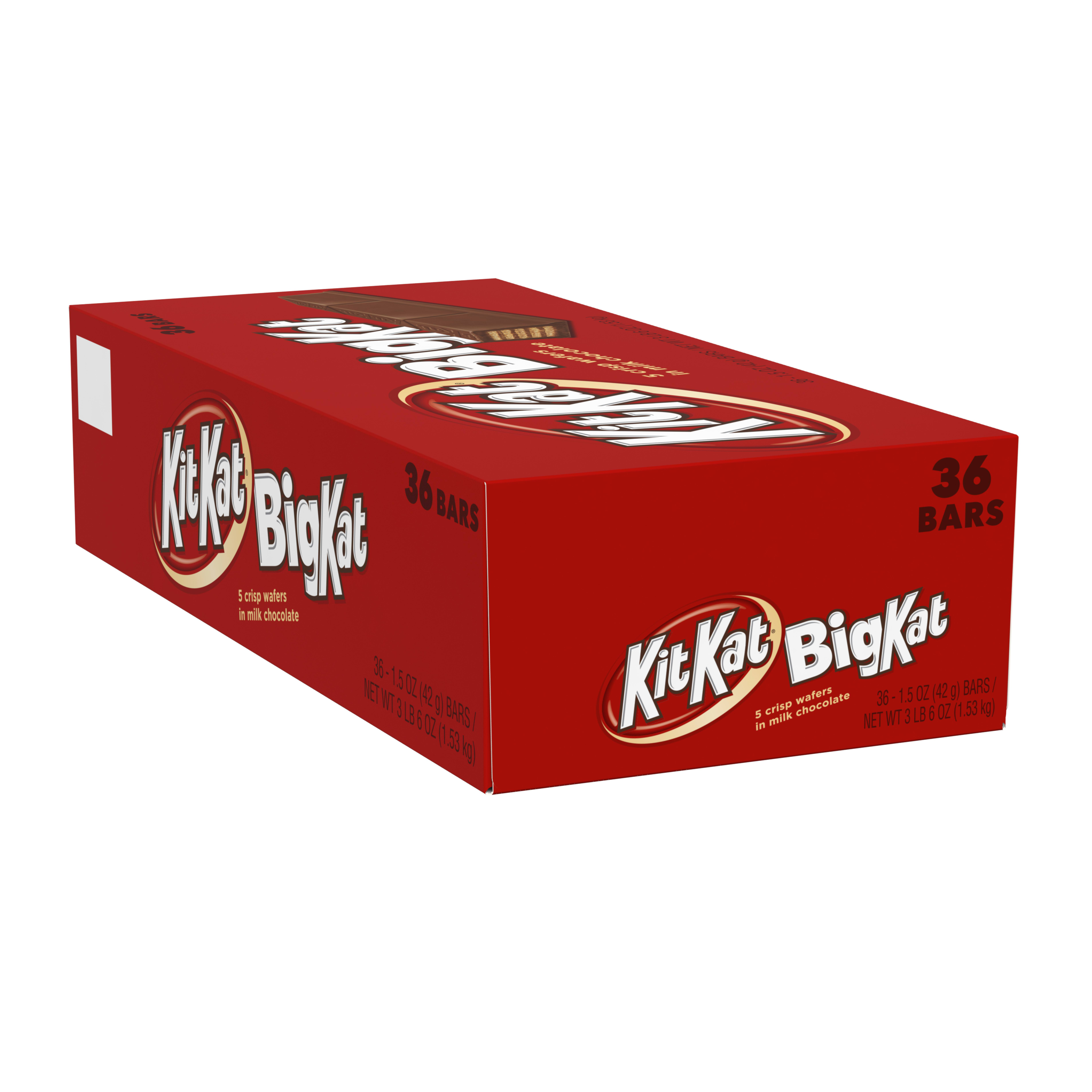 Kit Kat Chocolate Wafer Bar, 1.5 Oz, 36 Ct