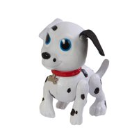 """5.5"""" White and Black Dalmatian Puppy Paddle Tails Wind Up Swimming Pool Water Toy"""