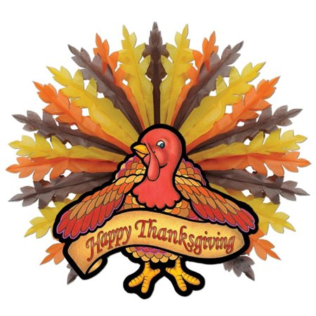 Pack of 6 fall happy thanksgiving hanging turkey Happy thanksgiving decorations